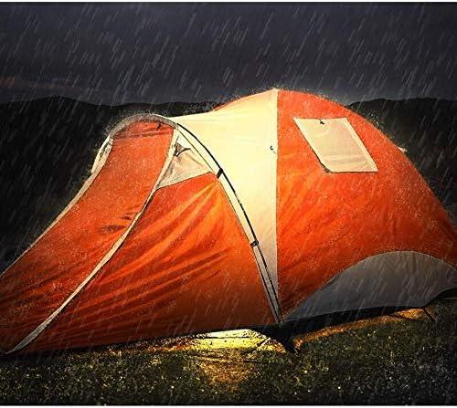 Chunlan Familia Tienda de campaña, de Doble Capa Anti-tormenta de la Lluvia de Protección Solar Wild Beach Tienda de la bóveda Conjunto Puede acomodar 3-4 Personas 3 Series Mei