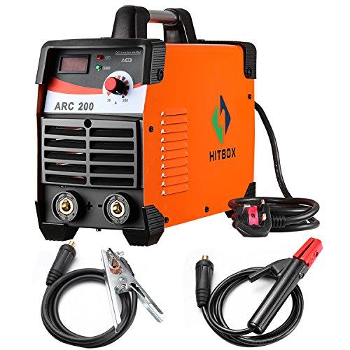 Stick Welder ARC-200 180A IGBT MMA STICK DC 220V IGBT Welder Inverter Welding Machine With Earth Clamp and Electrode Holder