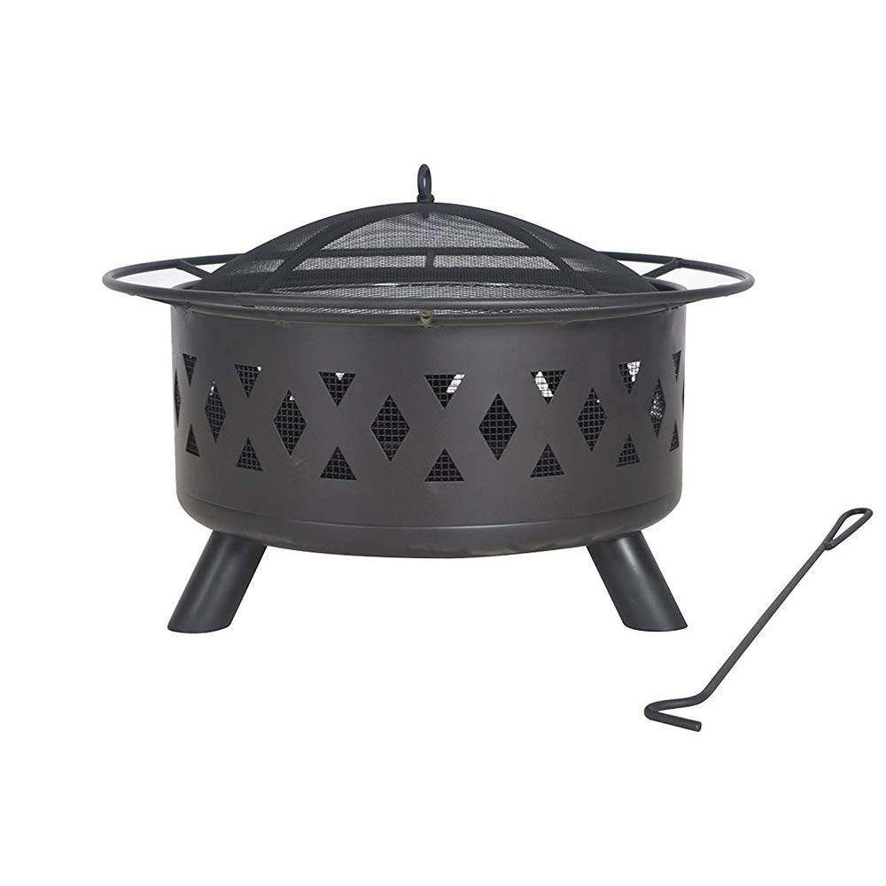 Legacy Heating COD-WD-28 FIRE Pit, 50lb, BLACK by LEGACY HEATING