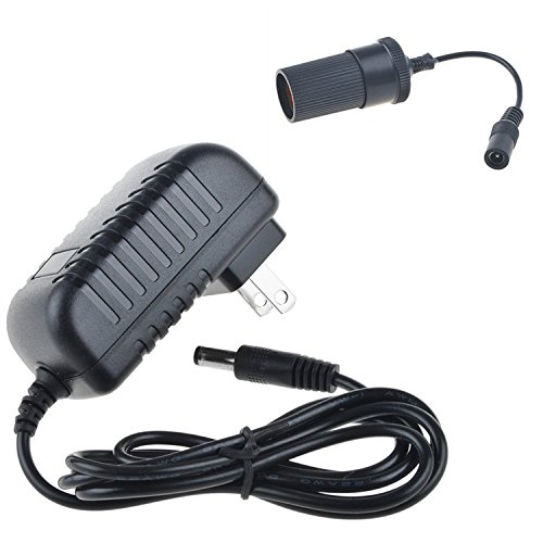 SLLEA AC/DC Adapter for 75-BP700 12V 12 Volts Electric Blanket 12 Volt Electrically Heated Blanket Home to Car Cigarette Lighter Plug Socket Power Supply Cord Cable Charger Mains PSU - Chargers Blanket