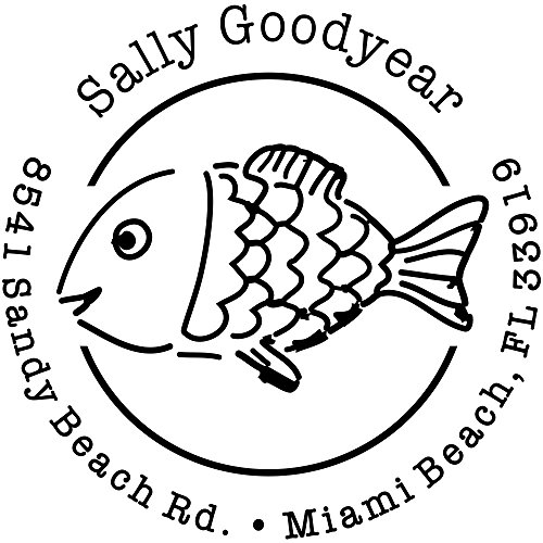 Fish Address Labels - 3
