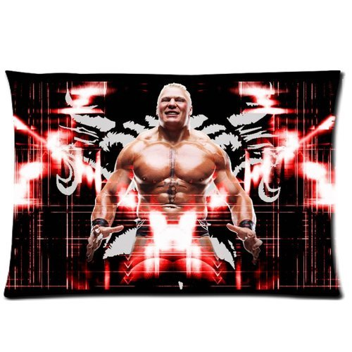 Cute Design Standard Size 20x30 Two Side Print WWE Winner Popular The Beast Brock Lesnar Cool Picture Pillowcases Protector gift for kids-8