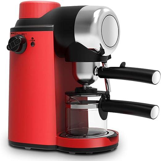 Máquina de Café Exprés, Cafetera Eléctrica de 0.24L con Tubo de ...