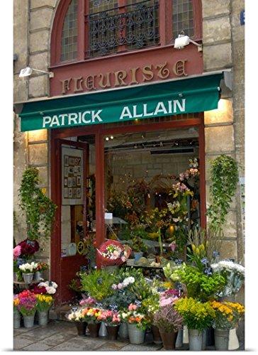 Lisa S. Engelbrecht Poster Print entitled France, Paris, Patrick Allain florist in Ile St. Louis (Patrick Iles)