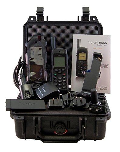 Iridium 9555 Satellite Phone To Go Kit With Sim Card