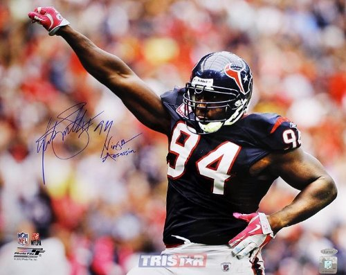 Amazon.com: Autographed Antonio Smith Photo - 16x20 ...