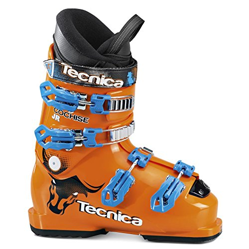 Tecnica 30129000051 Junior Cochise Skiboots,Orange,23.5 ()