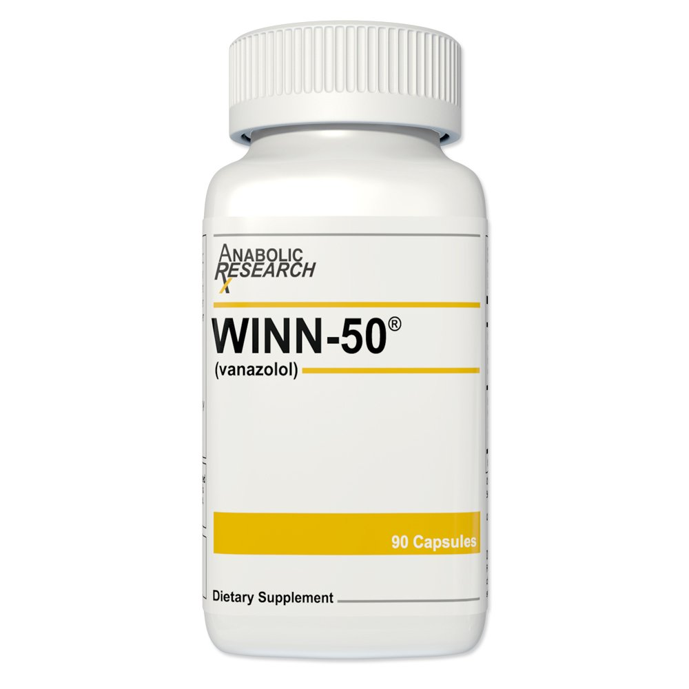 Winn 50 - Maximizes energy, burns fat, promotes lean muscle gains - 1 Month Supply - Dietary Supplement