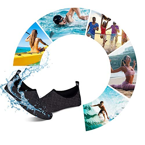 Water Swim Shoes Quick-Dry Barefoot Aqua Beach Socks for Women Men