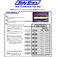 Tidy Trax A Hands-Free Shoe Covers - size chart