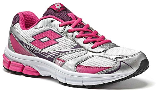 Material Lotto Running W Zenith Mujer Vi Zapatillas Blanco De Sintético RYqRr