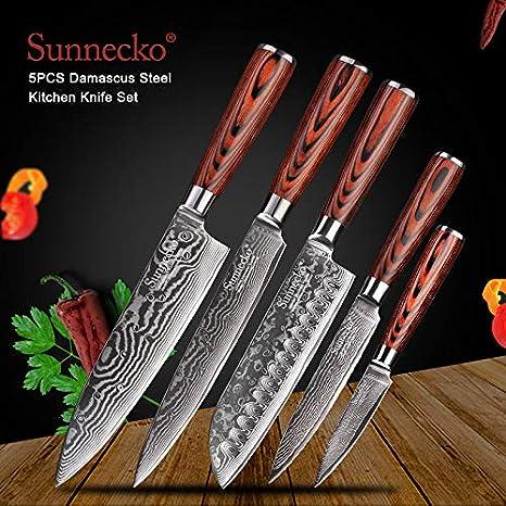 Amazon Com Best Quality Kitchen Knives Santoku Knife