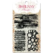 Bo Bunny Stamps 4 by 6-Inch, Wall to Wall