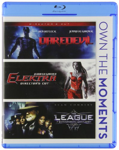 Daredevil / Elektra / The League of Extraordinary Gentlemen Triple Feature Blu-ray