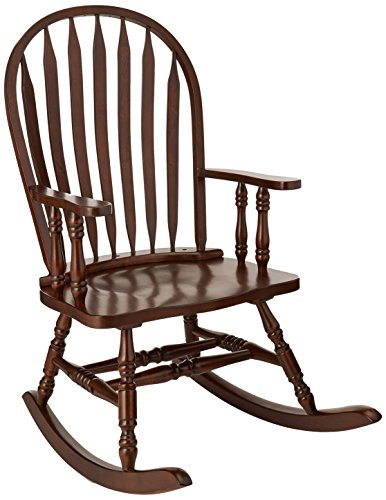 CAPPUCCINO ARROW WINDSOR BACK ROCKING CHAIR