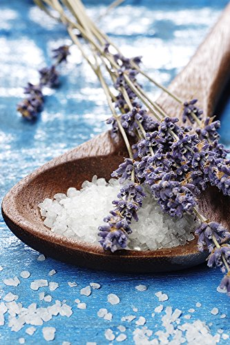 Bath Soak From the Dead Sea with Lavender, Palmarosa & Clary Sage 100% Natural and Pure - Best Dead Sea Salt for Detox, Relaxation, Sprains and Aches with Dendritic Salt