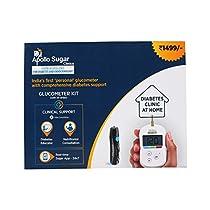 Apollo Sugar Diabetes Home Care Basic Kit White