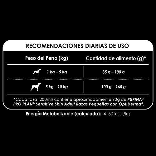 Pro Plan Comida para Perro Sensitive Skin Adult con OptiDerma, Razas Pequeñas 5