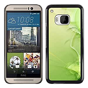 Estuche Cubierta Shell Smartphone estuche protector duro para el teléfono móvil Caso HTC One M9 / CECELL Phone case / / Nature Beautiful Forrest Green 37 /