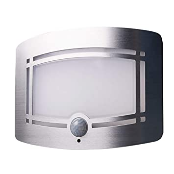 FHTD 10LED Lámpara De Pared Inalámbrica Aplique Sensor De Movimiento Vestíbulo Escalera Armario Lámpara