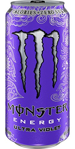 Monster Energy Ultra Violet, 16 Ounce (Pack of 24)