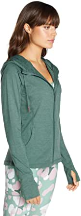 Rockwear Activewear Women's Revive Hooded Jacket Forest 10 from Size 4-18 Jackets + Vests for Tops