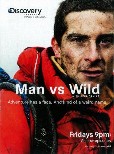 Man vs. Wild Poster TV