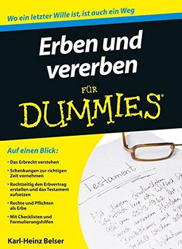 erben-und-vererben-fr-dummies