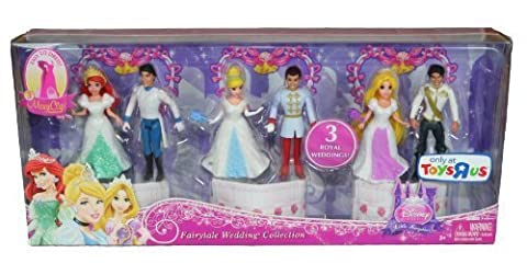 Disney Princess Fairytale Wedding Collection by Mattel