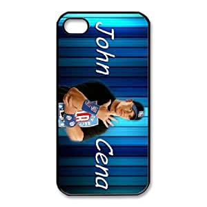Personalized Durable Cases iPhone 4,4S Black Phone Case Rzeuy John Cena Protection Cover