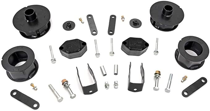 2.5 Suspension Lift Kit Compatible with 07-18 Jeep Wrangler and Wrangler Unlimited JK #635