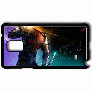 Personalized Samsung Note 4 Cell phone Case/Cover Skin 6 Black