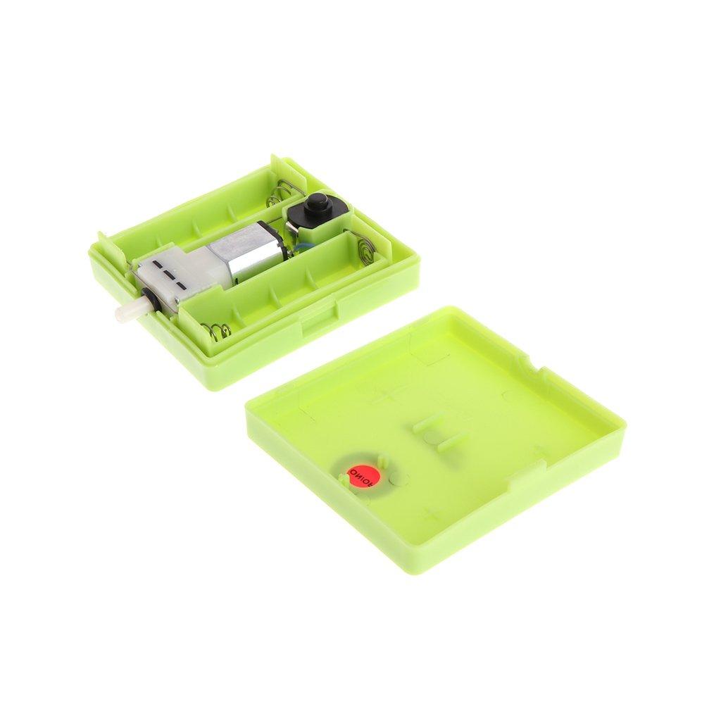 siwetg Acquario Secco con batterie per Serbatoio dei Pesci Pompa ad Aria arieggiatore Ossigeno con Pietra di Aria