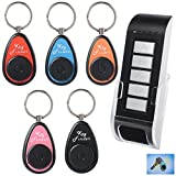 Key Locator/Finder, LingsFire Portable Wireless Key Finder RF Item Locator Including Remote Control, Base Support and 5 Keychain Receivers with LED flash and Beep Alarm Book Reviews