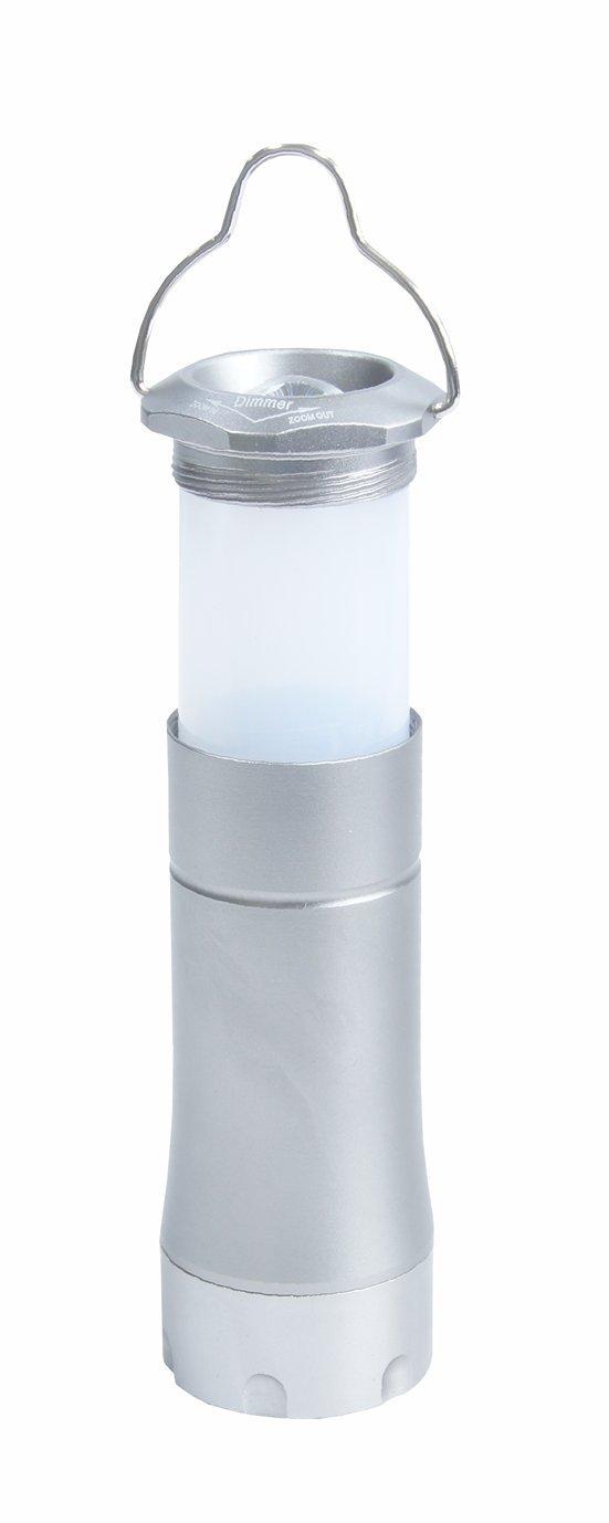 CON:P B29871 Laterne Aluminium Taschenlampe, ausziehbar Conmetall