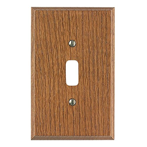 Switchplate Dark Solid Oak Toggle Or Dimmer | Renovator's Supply - Dark Switchplates