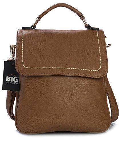 Big Shop Handbag Bolso One Tan al Medium sintético hombre marrón para de hombro qqpZrxnw