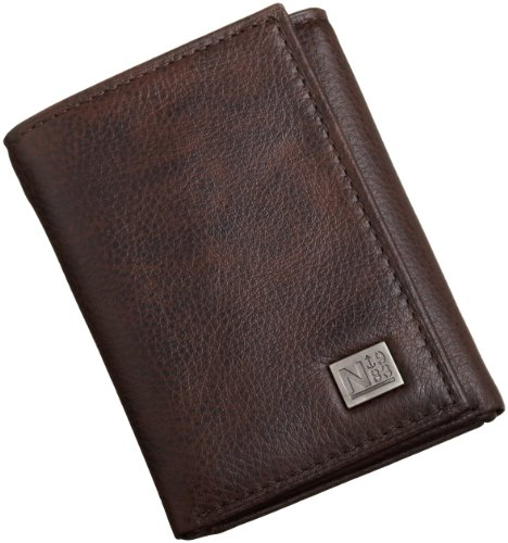 Nautica Men's Trifold,Brown,One Size
