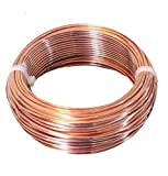 10 AWG Bare Copper Wire 100 Ft Coil Single Solid Copper Wire 99.9% Pure