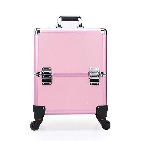 Amazon.com: YLTTZ Aluminum Frame Makeup Train Case Cosmetic ...