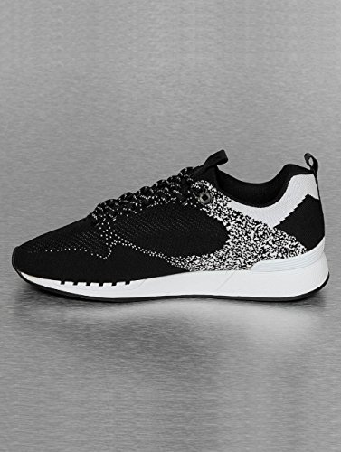 Black White Noir Easy Djinns Gator Run Knit 8w41nI4qaT