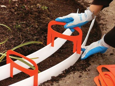 Amazoncom Kurb Kit Power Concrete Mixers Garden Outdoor - Diy concrete garden edging