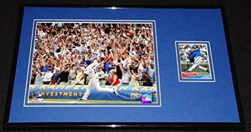 Autographed Aramis Ramirez Photograph - Framed 11x17 Display Cubs Walkoff HR - Autographed MLB (Aramis Ramirez Photograph)