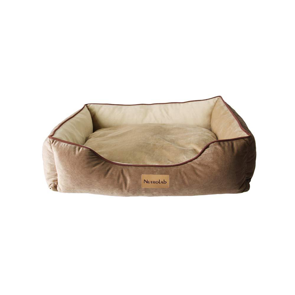 YQQ ペット用ベッド、 ペットソファー 犬用ベッド 猫の巣 柔らかい 洗える 大型犬 (サイズ さいず : L l) B07MPLKQWV  Medium Medium
