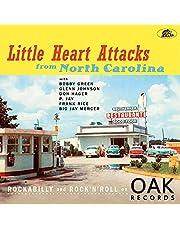 Little Heart Attacks From North Carolina: Rockabilly And Rock 'n' Roll On Oak Records (Various Artists) (Vinyl)