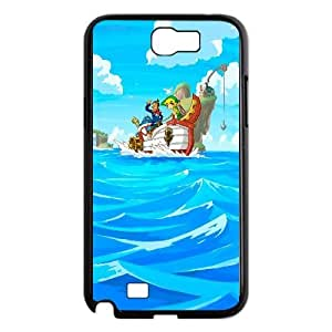 The Legend Of Zelda Game Samsung Galaxy N2 7100 Cell Phone Case Black TPU Phone Case SY_809399