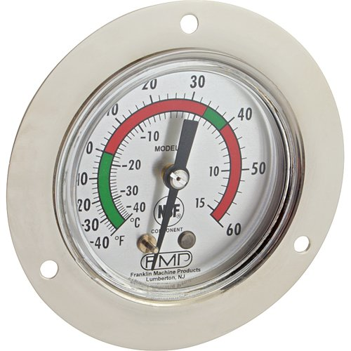 TRAULSEN Refrigerator/Freezer Thermometer -40° to 60°F 27870