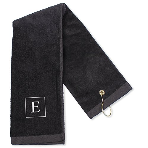 Cathys Concepts Personalized Towel Black