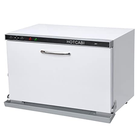 Triprel Inc Portable 2 In 1 Hot Towel Warmer UV Sterilizer Dual Cabinet  Massage Salon Spa