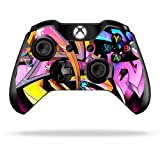 Protective Vinyl Skin Decal Cover for Microsoft Xbox One/ One S Controller wrap sticker skins Wicked Graffiti